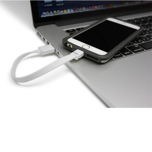 Cable FLAT Flip 20 (Lightning Cable) - 20cm *MFI - ICONS