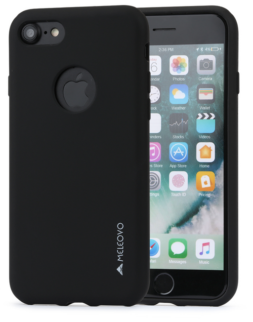 Meleovo SILICONE JACKET for iPhone 8 / iPhone SE 2020 - ICONS