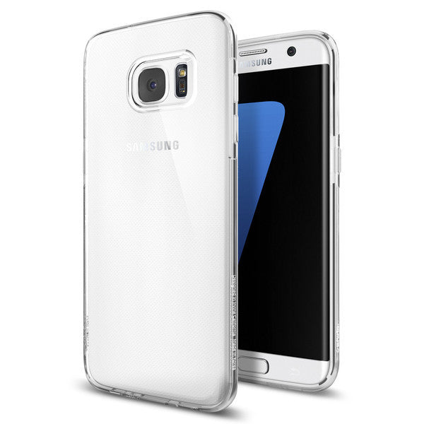 Samsung Galaxy S7 Edge Case, Spigen Liquid Crystal