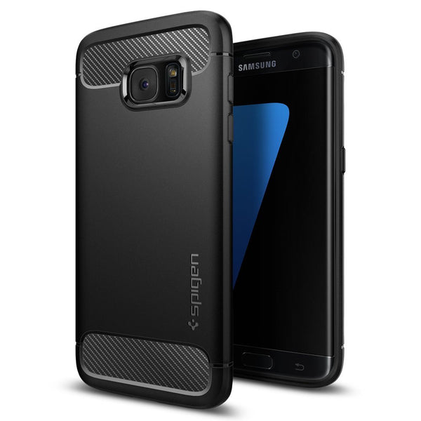 Samsung Galaxy S7 Edge Case, Spigen Rugged Armor