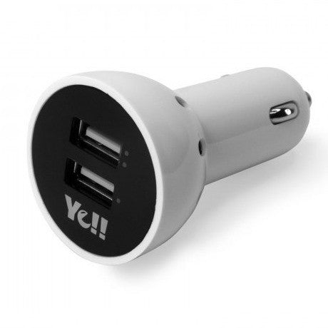 Car Charger, Dual USB Car Charger - ICONS