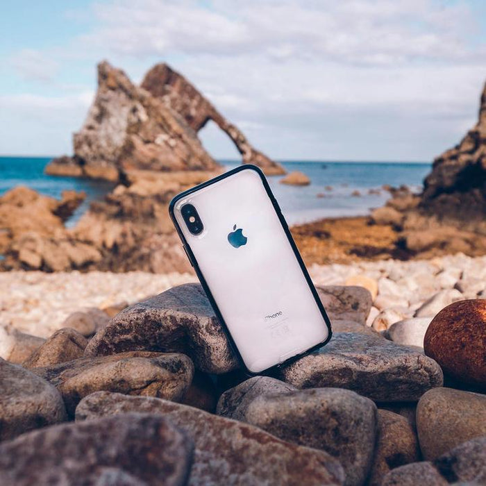 Mous Clarity Case for Apple iPhone XS / X - ICONS