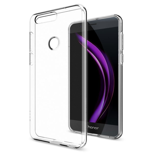 Liquid Crystal Case for Huawei Honor 8 - Clear