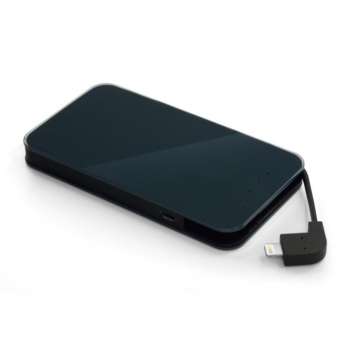 Power Bank, Energy Pocket 6000mAh (Built in Lightning cable) - ICONS