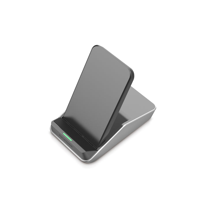 Fast Wireless Charging Stand - Dual Coil - (RP-PC076) - ICONS
