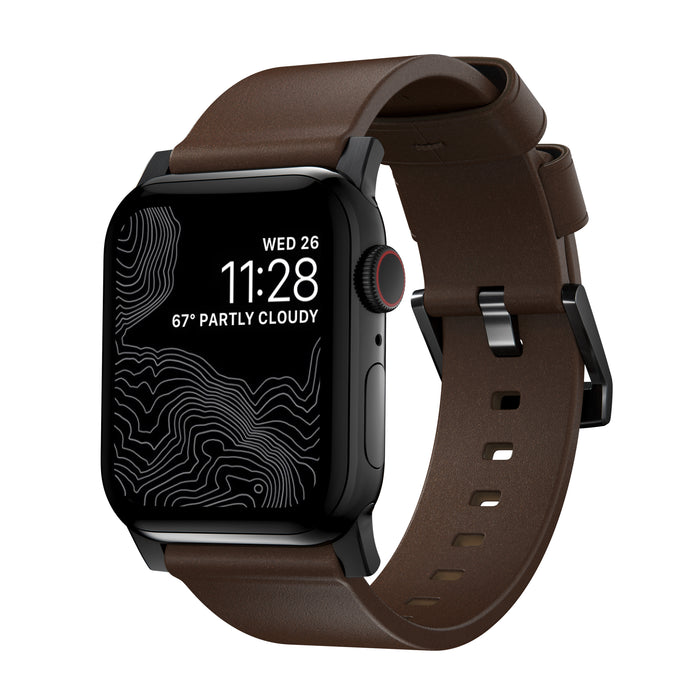 Nomad Modern Strap (Horween Leather) for Apple Watch Series 2-SE -44/42mm