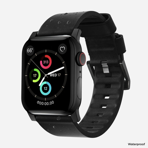 Nomad Modern Active Leather Strap for Apple Watch Series 4 / Series 5 / Series 6 / SE - 44mm /42mm