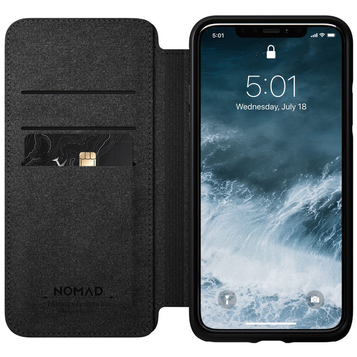 Nomad Rugged Leather Folio Case for Apple iPhone 11 Pro Max