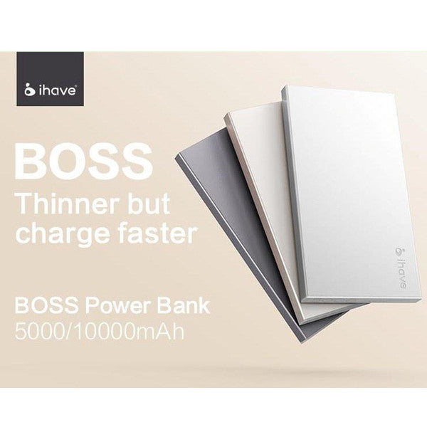 Boss Powerbank - 10000mAh (Silver)