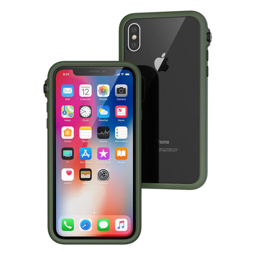 Impact Protection Case for Apple iPhone X - 9.9ft Drop Proof - ICONS