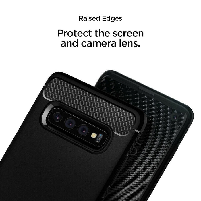 Rugged Armor Case for Samsung Galaxy S10 - ICONS