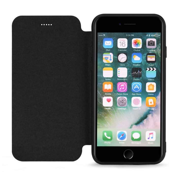 Meleovo Napa Flip Case for Apple iPhone 8 / iPhone SE 2020 - ICONS