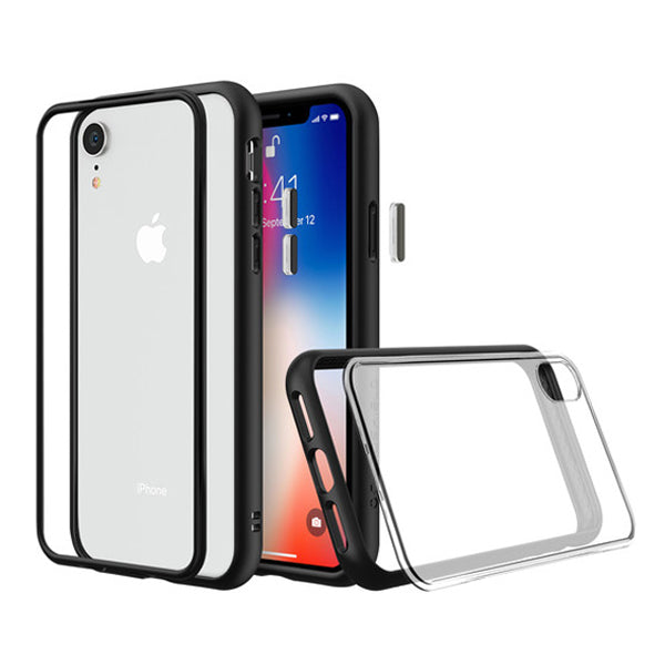 Mod NX Case for Apple iPhone XR (with Rim, Button, Frame, Clear Blk Plate)