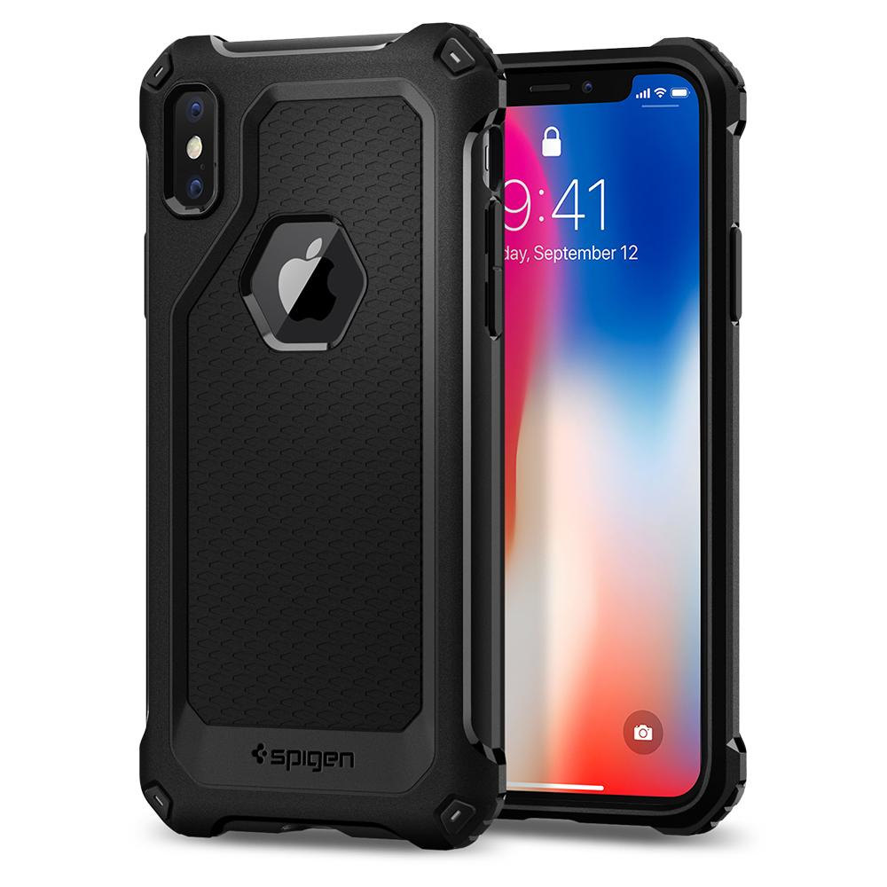 Spigen Rugged Armor Extra Case for Apple iPhone X - ICONS