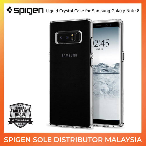 Liquid Crystal Case for Samsung Galaxy Note 8