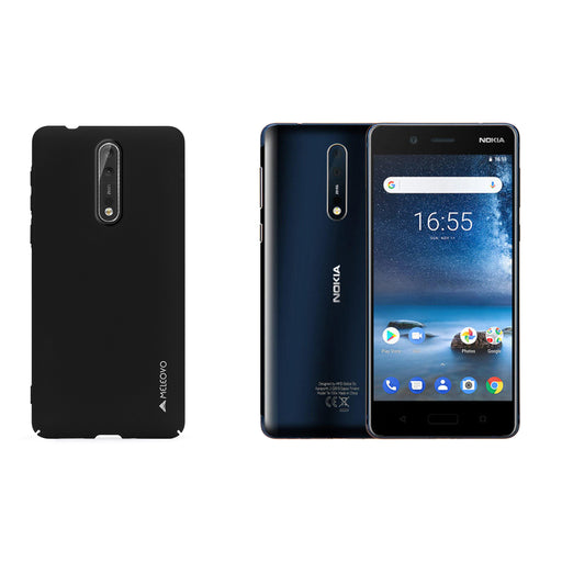 Metallic Slim Case for Nokia 8 - ICONS