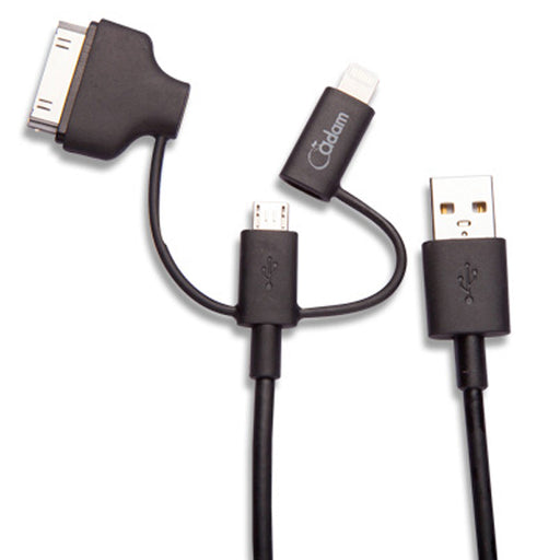 Lightning Cable Multi-Plug 90 - 90cm *MFI - ICONS