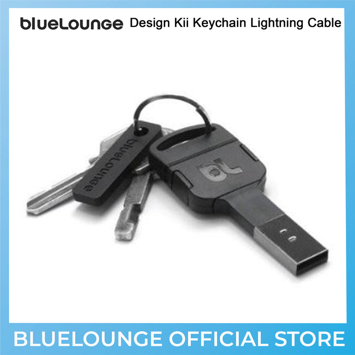 Bluelounge Kii Keychain Lightning USB Charger (Charging Devices)