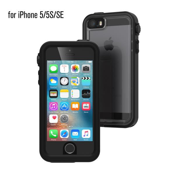 Waterproof Case for Apple iPhone SE - Stealth Black