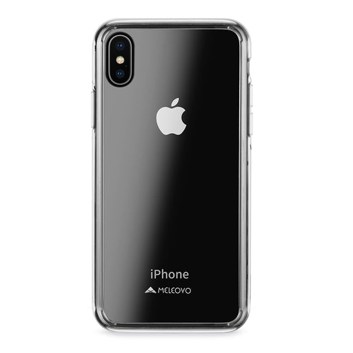 Glass Case for Apple iPhone X (Clear) - ICONS