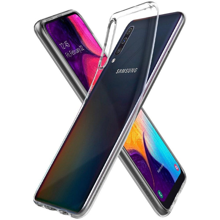 Spigen Liquid Crystal Case for Samsung Galaxy A50 - ICONS