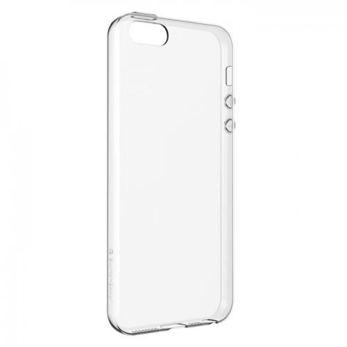 Gel Case for Apple iPhone SE/5S/5 - Clear - ICONS