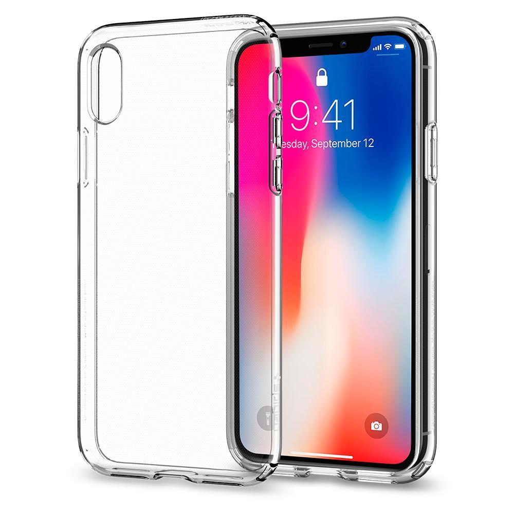 Liquid Crystal Case for Apple iPhone X - ICONS