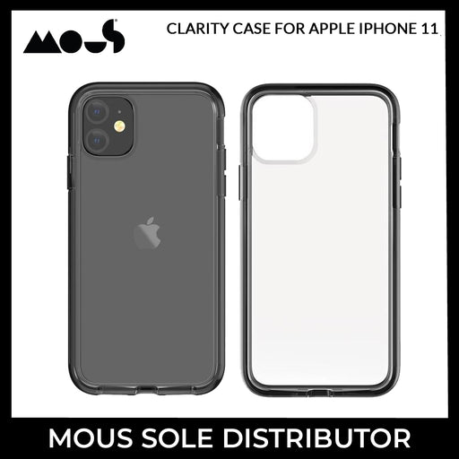 Mous Clarity Case for Apple iPhone 11 - ICONS