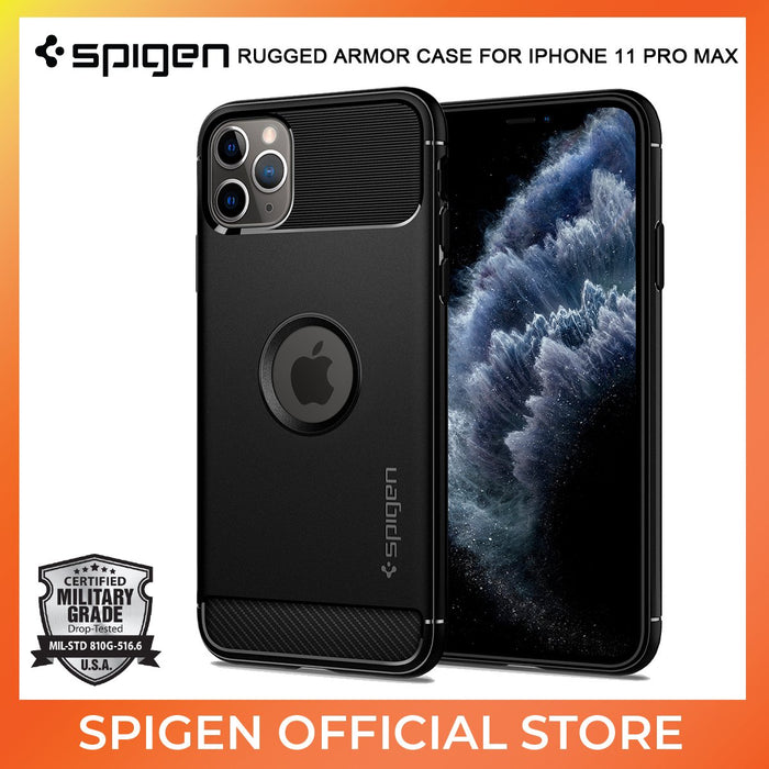 Spigen Rugged Armor case for Apple iPhone 11 Pro Max - ICONS