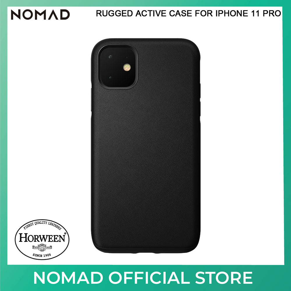 Nomad Active Rugged Leather Case for Apple iPhone 11 Pro