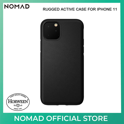 Nomad Active Rugged Leather Case for Apple iPhone 11