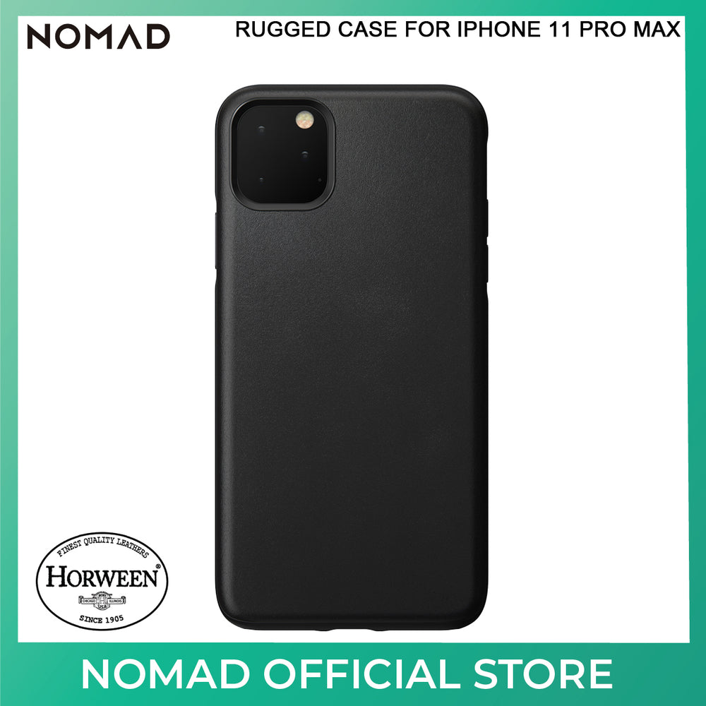 Nomad Active Rugged Leather Case for Apple iPhone 11 Pro Max