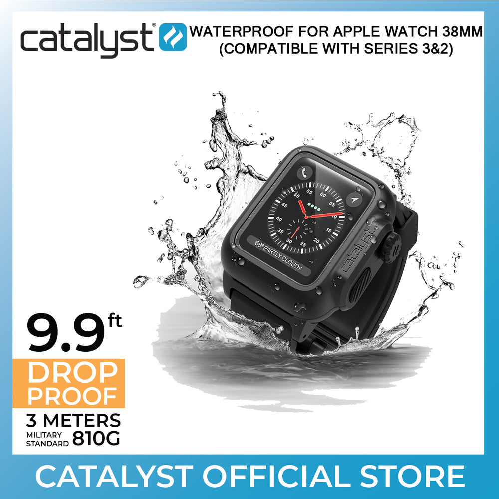 Waterproof Case For Apple Watch Series 3/2 - 38MM - ICONS