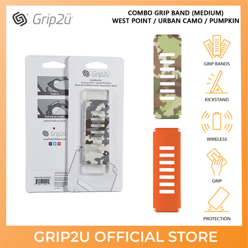Grip2u Combo Grip Band for Apple iPhone Case