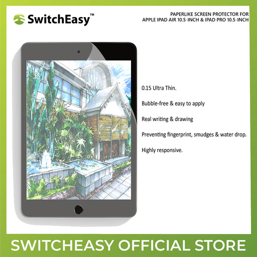 "SwitchEasy PaperLike Screen Protector for Apple iPad Air 10.5"" & iPad Pro 10.5"""