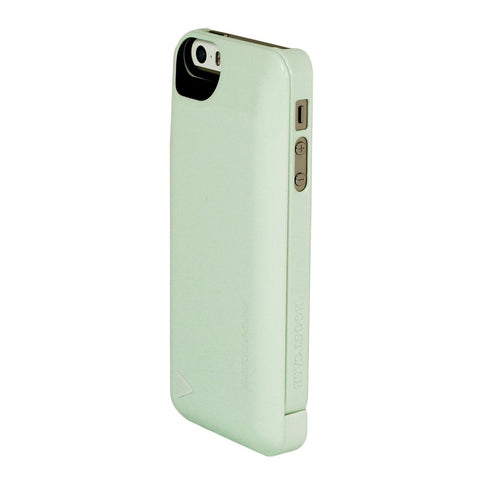 Power Pack with Detachable Battery Case + Protective Snap Case 2200mAh for iPhone 5/5S