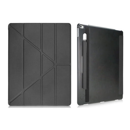 "Slim  Y 360' Multi Angle Smart for iPad Pro 12.9"" - Black - ICONS"