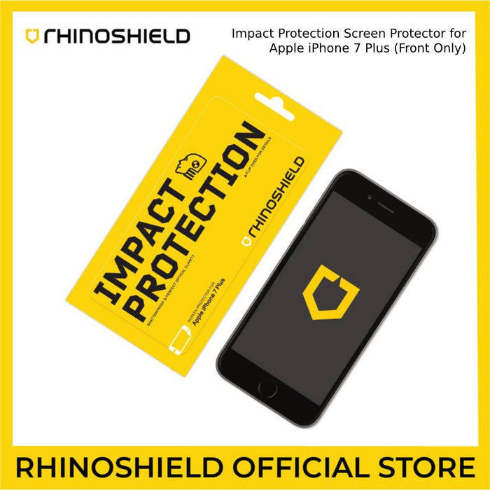 RhinoShield Impact Protection Screen Protector for Apple iPhone 7 Plus (Front Only)