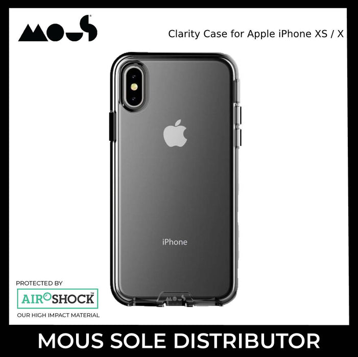 Mous Clarity Case for Apple iPhone XS / X