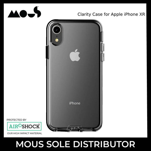 Mous Clarity Case for Apple iPhone XR