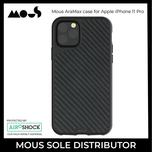 Mous AraMax case for Apple iPhone 11 Pro - ICONS