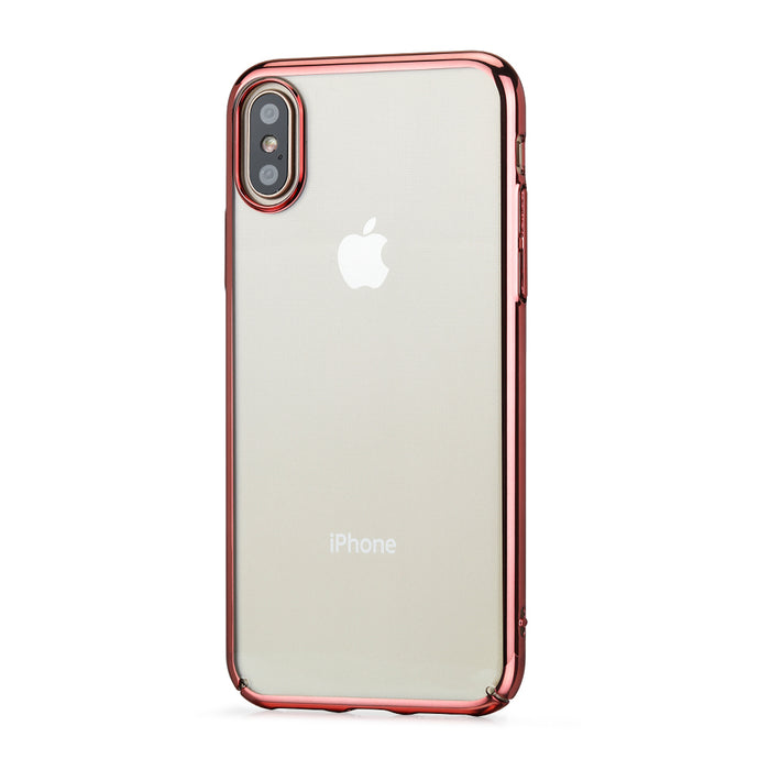 Flash Slim Case for Apple iPhone X (Clear) - ICONS