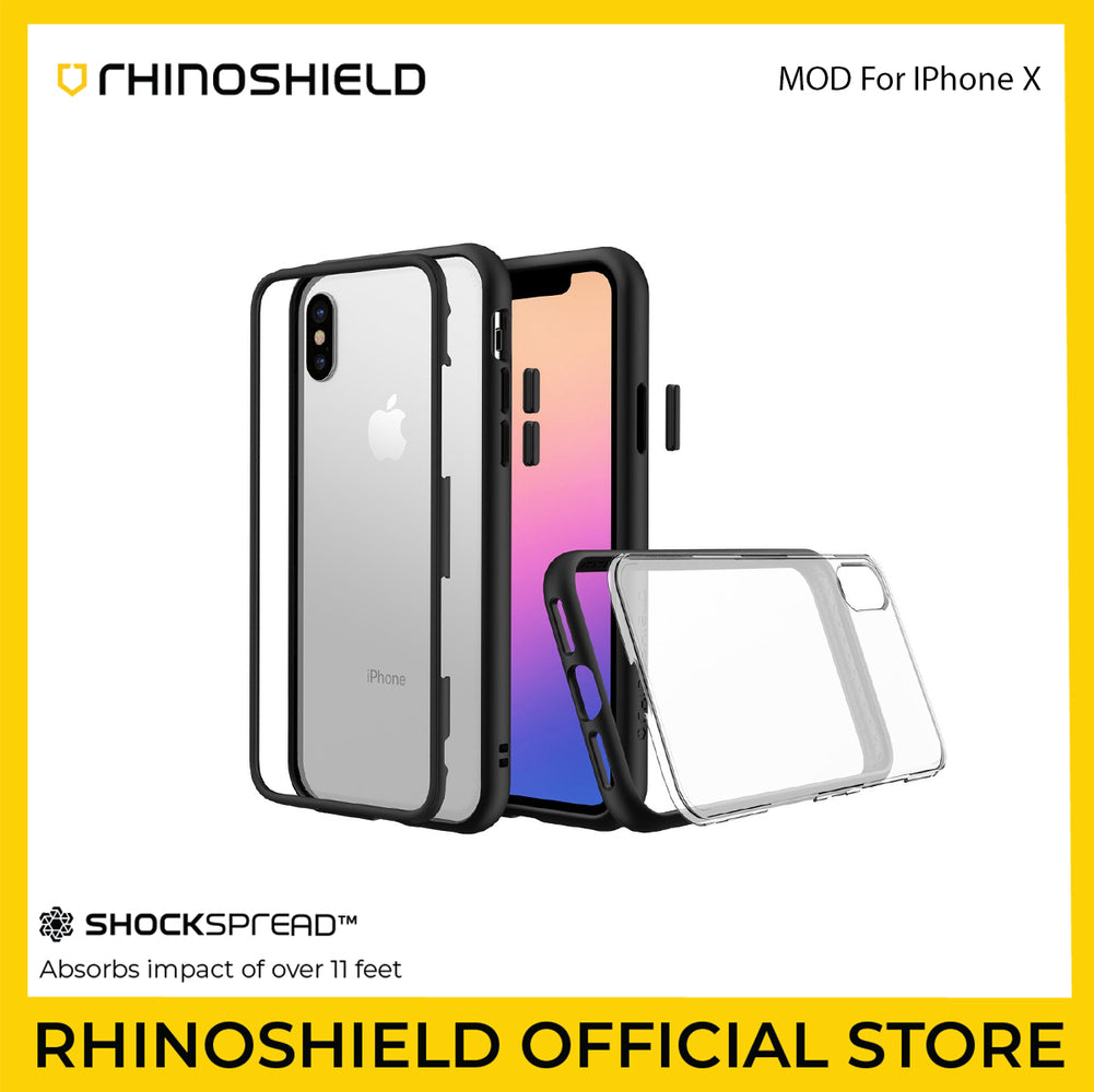 RhinoShield Mod (Modular) Case for Apple iPhone X - ICONS