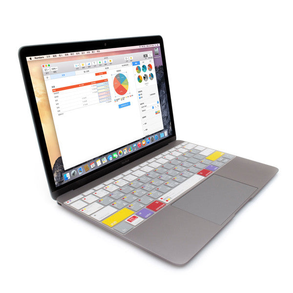 JCPAL Verskin Keyboard Protector for MacBook Air & Pro 13