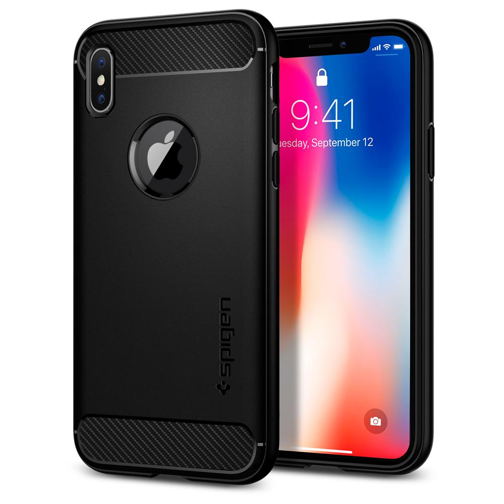 Rugged Armor Case for Apple iPhone X