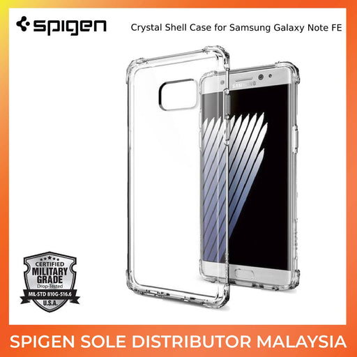 Spigen Crystal Shell Case for Samsung Galaxy Note FE