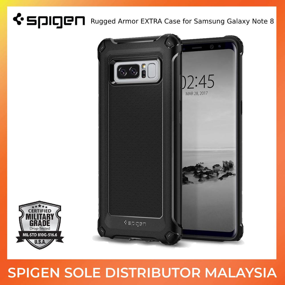 Spigen Rugged Armor EXTRA Case for Samsung Galaxy Note 8