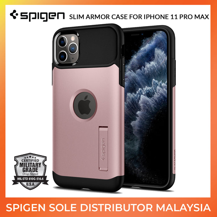 Spigen Slim Armor Case for Apple iPhone 11 Pro Max - ICONS