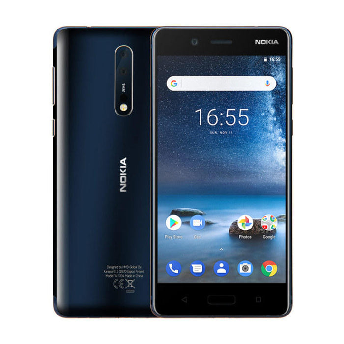 9H Scratch Resistant Defense Glass for Nokia 8 - ICONS
