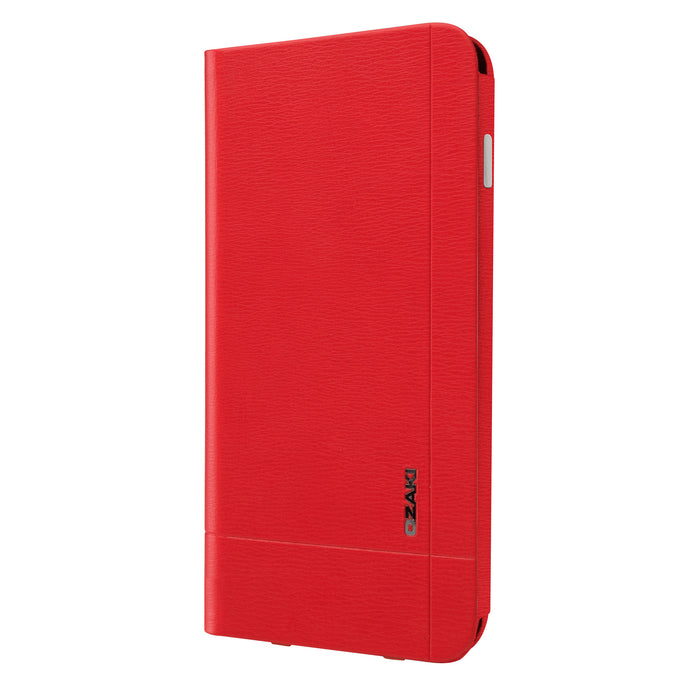 Ozaki O!Coat Aim+ Leather Folio Case with Pocket for iPhone 6 - ICONS